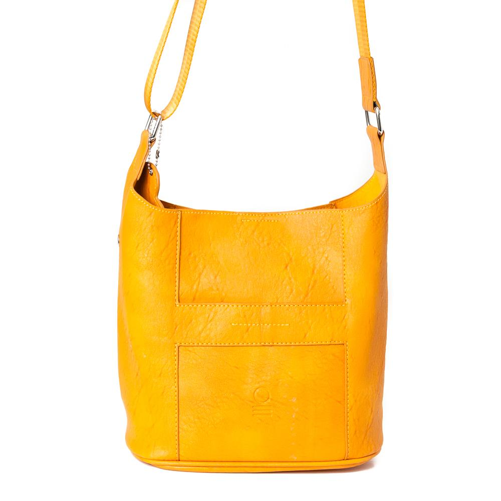 Bag, small soft cross yellow