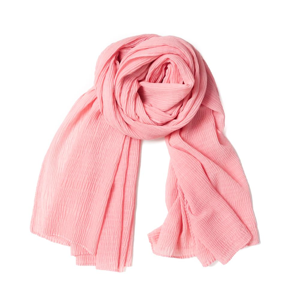 Scarf, viscose mix lt.pink
