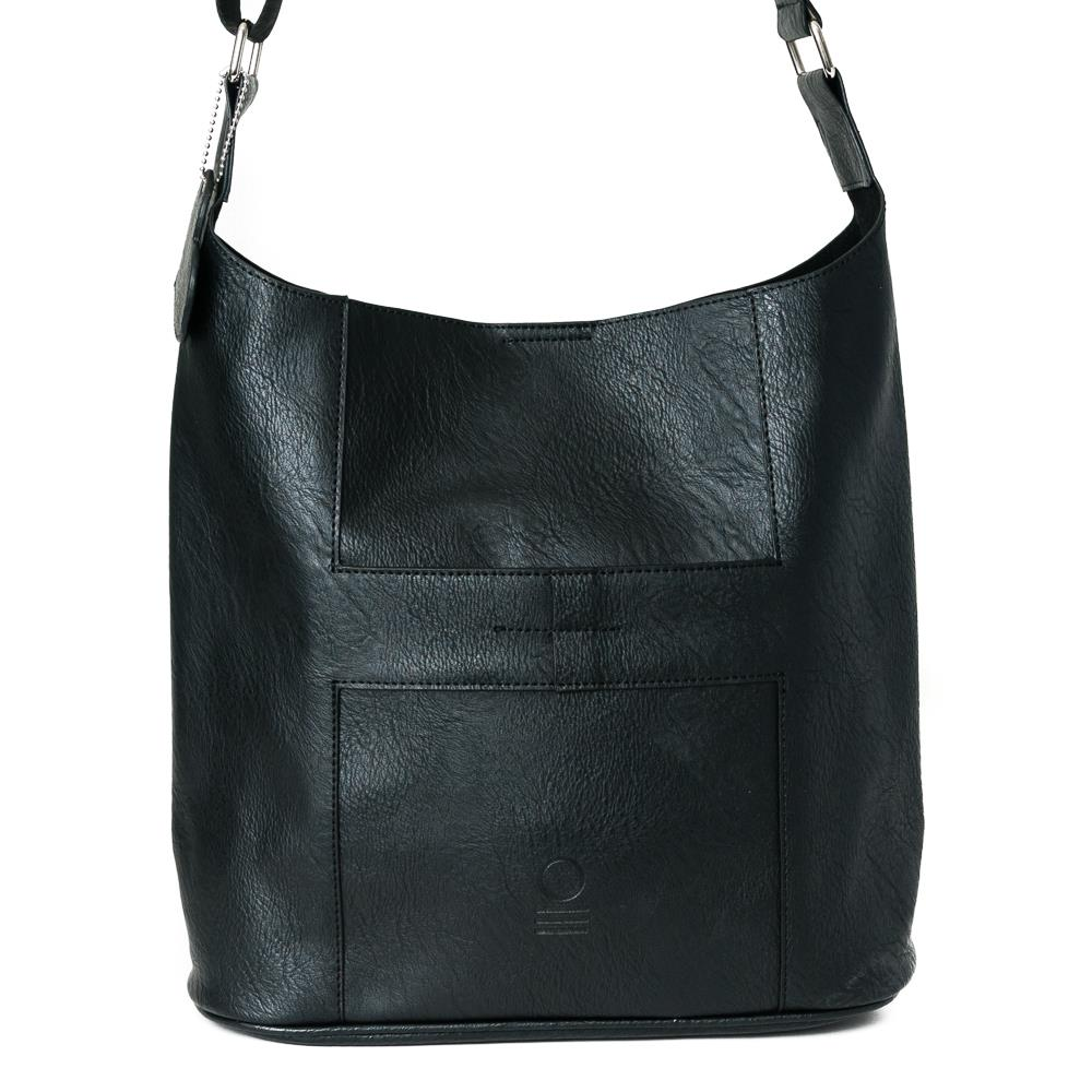 Bag, soft cross black