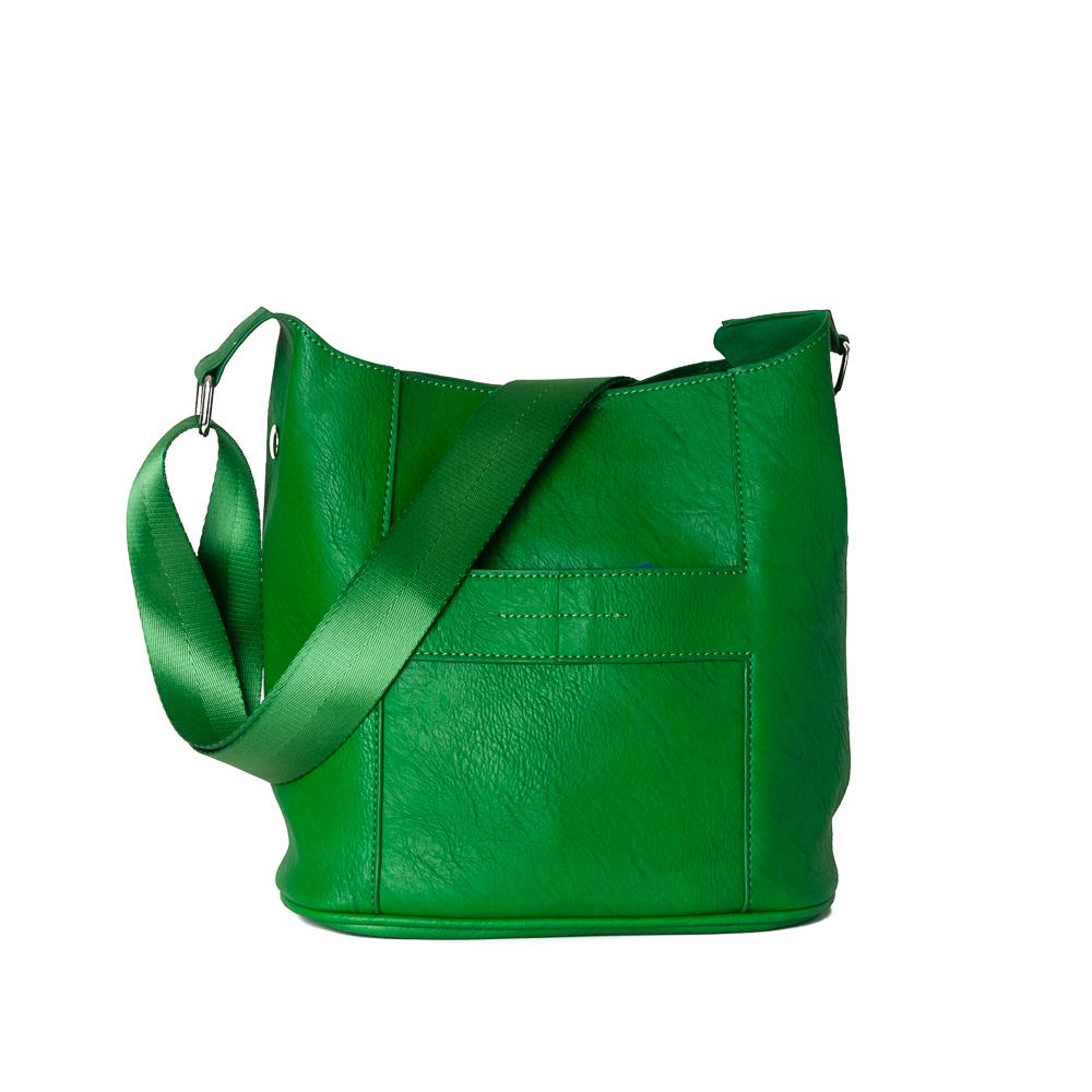 Bag, Anna small cross bright green