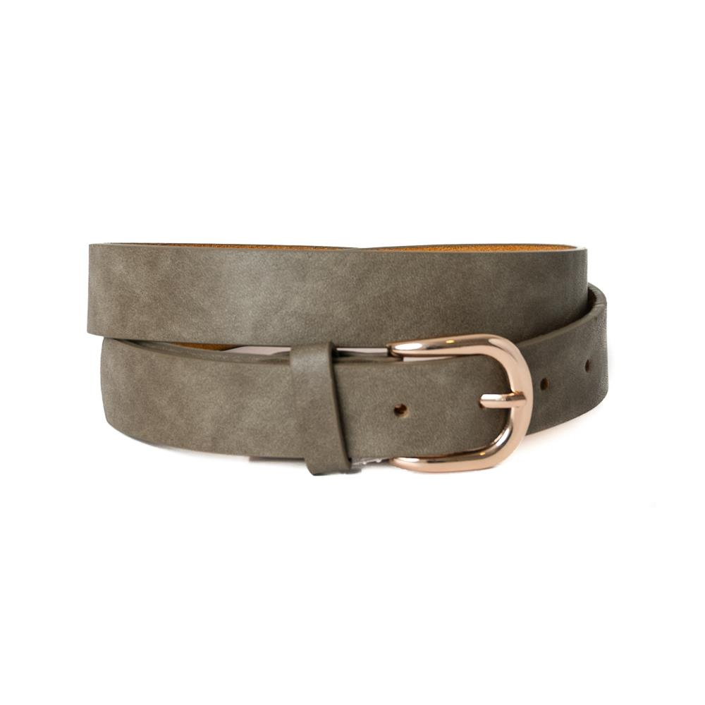 Belt, Plain with gold buckle Army