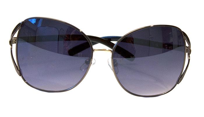 Sunglasses, Big sunshades silver
