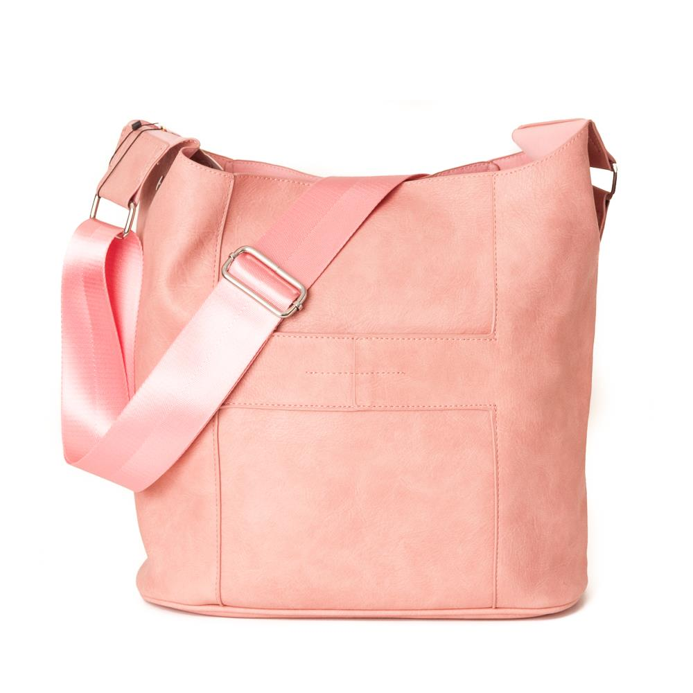 Bag, Anna cross dusty pink