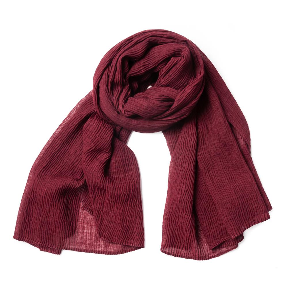 Scarf, viscose mix Bordeaux