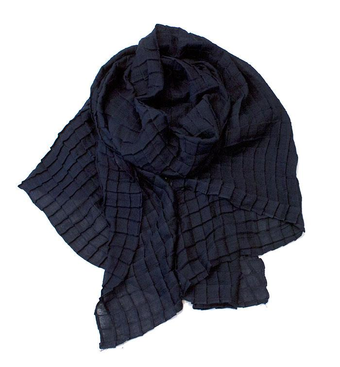 Scarf, solid color plize