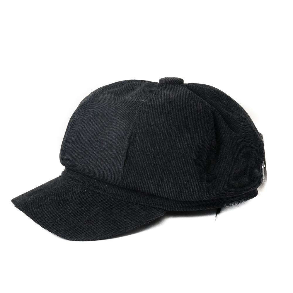 Hat, Cord caps black
