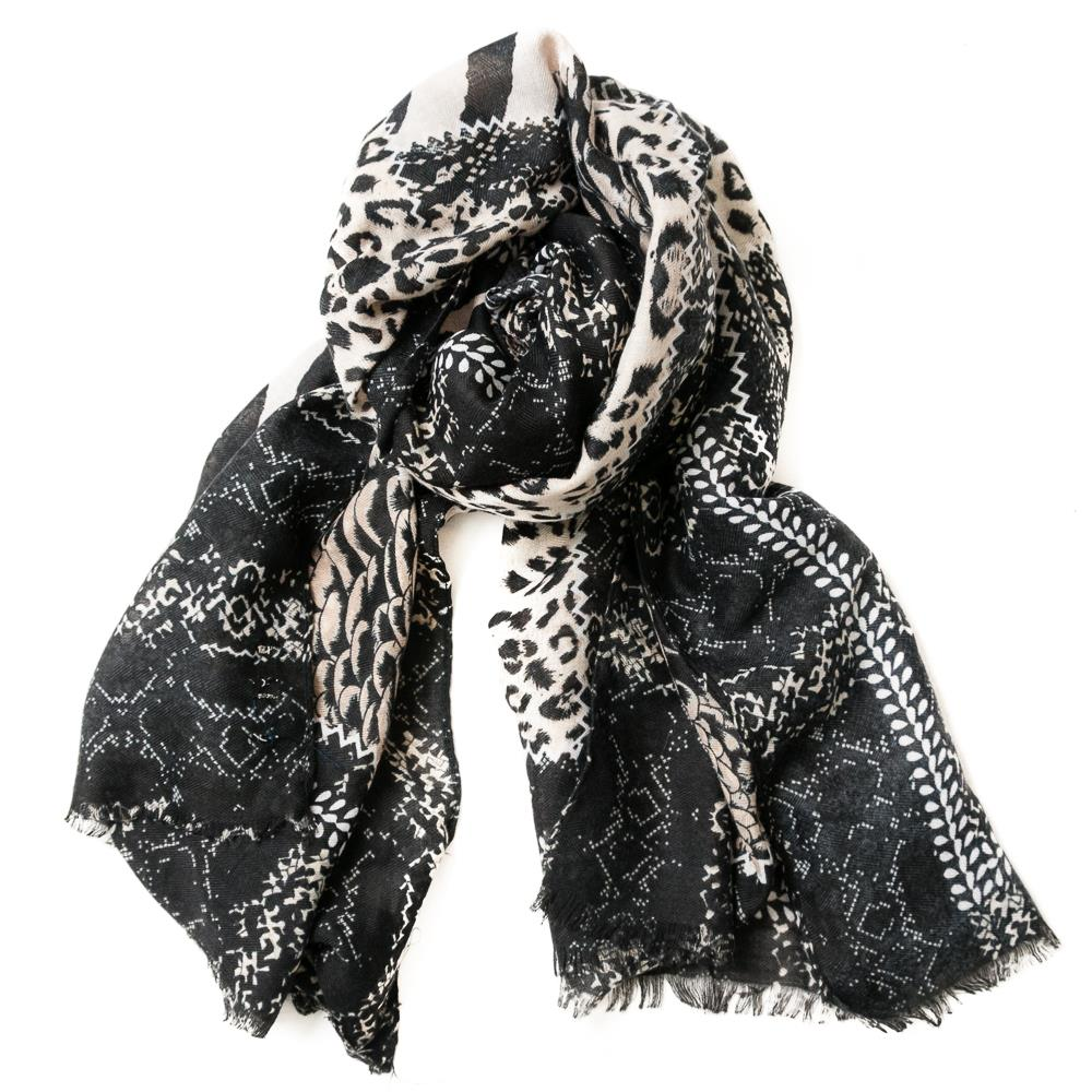 Scarf, Mix animalprint