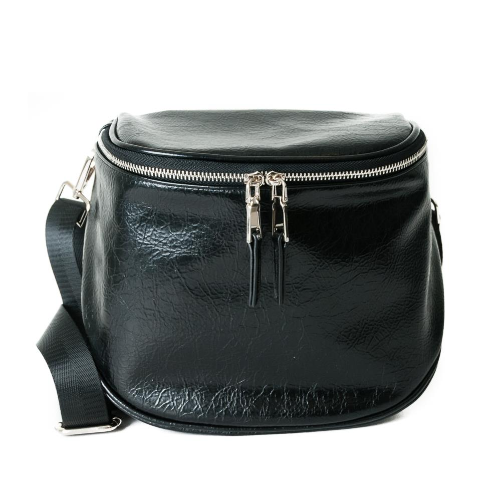 Bag, bobble cross black