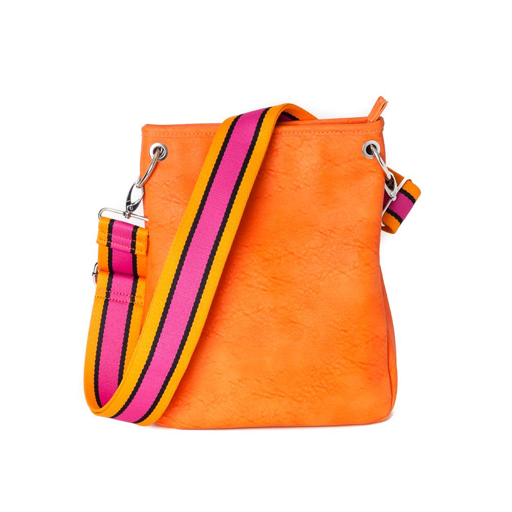 Bag, Darma small crossbag with ribbon orange