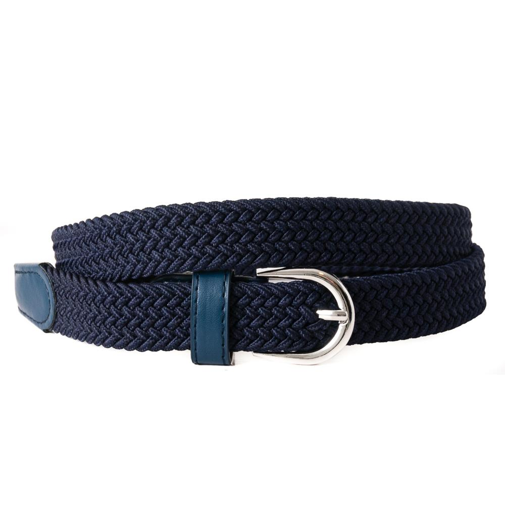 Belt, small elastic  navy