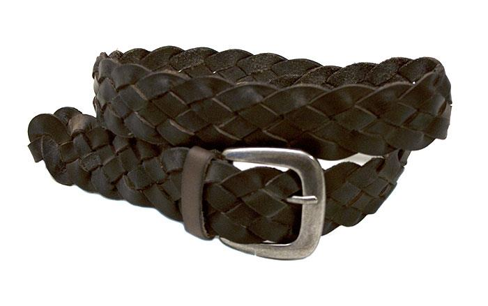 Belt, braided leather belts