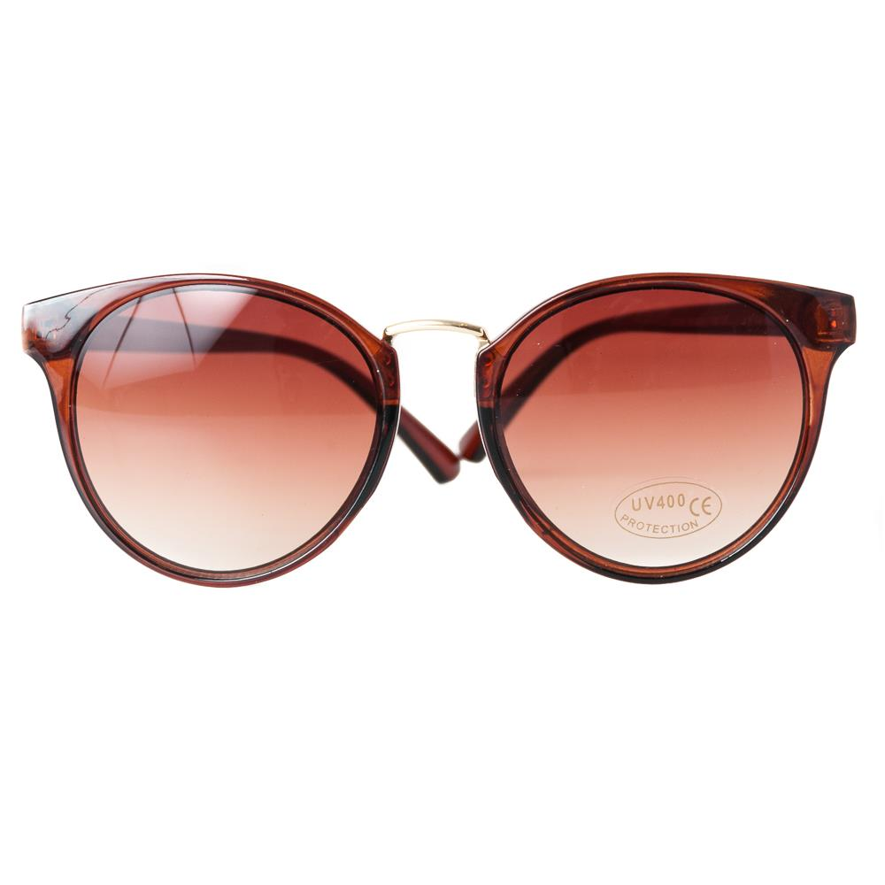 Sunglasses , Oval brown