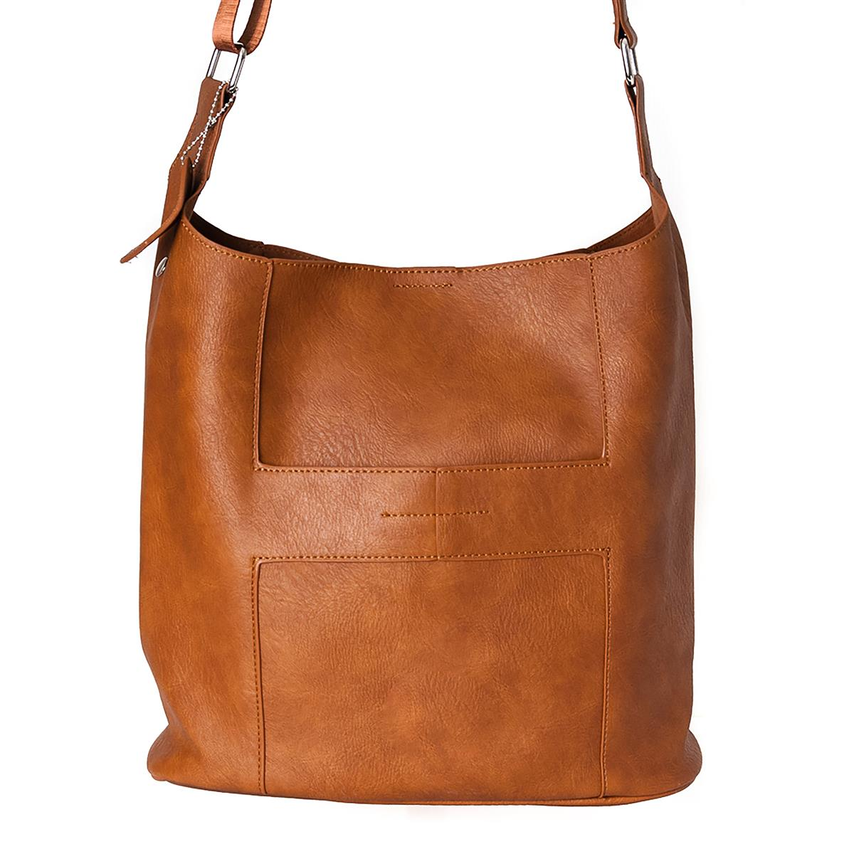 Bag, Anna cross cognac