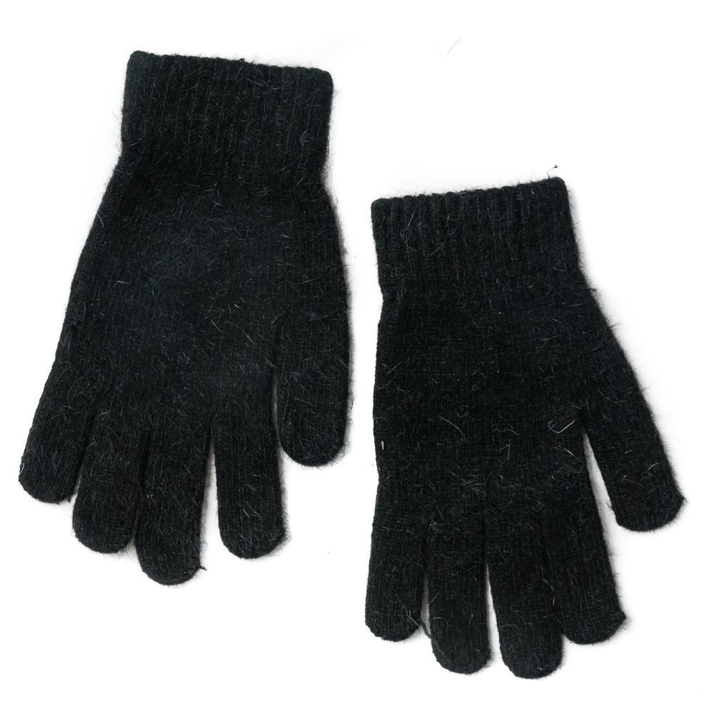Gloves, Knitted Gloves Black