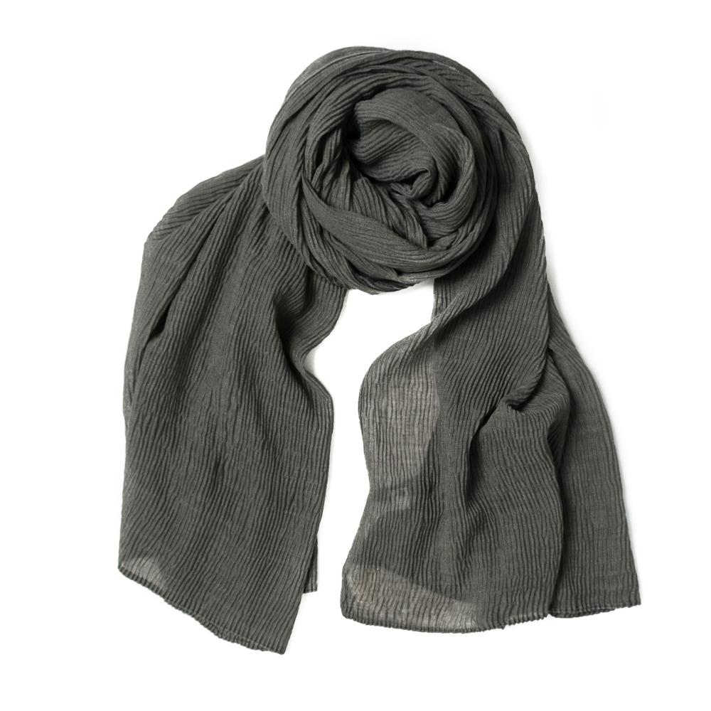 Scarf, viscose mix grey