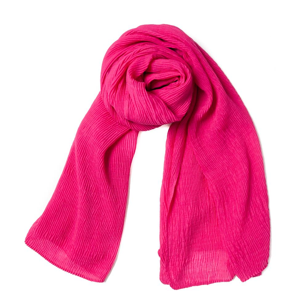 Scarf, viscose mix pink
