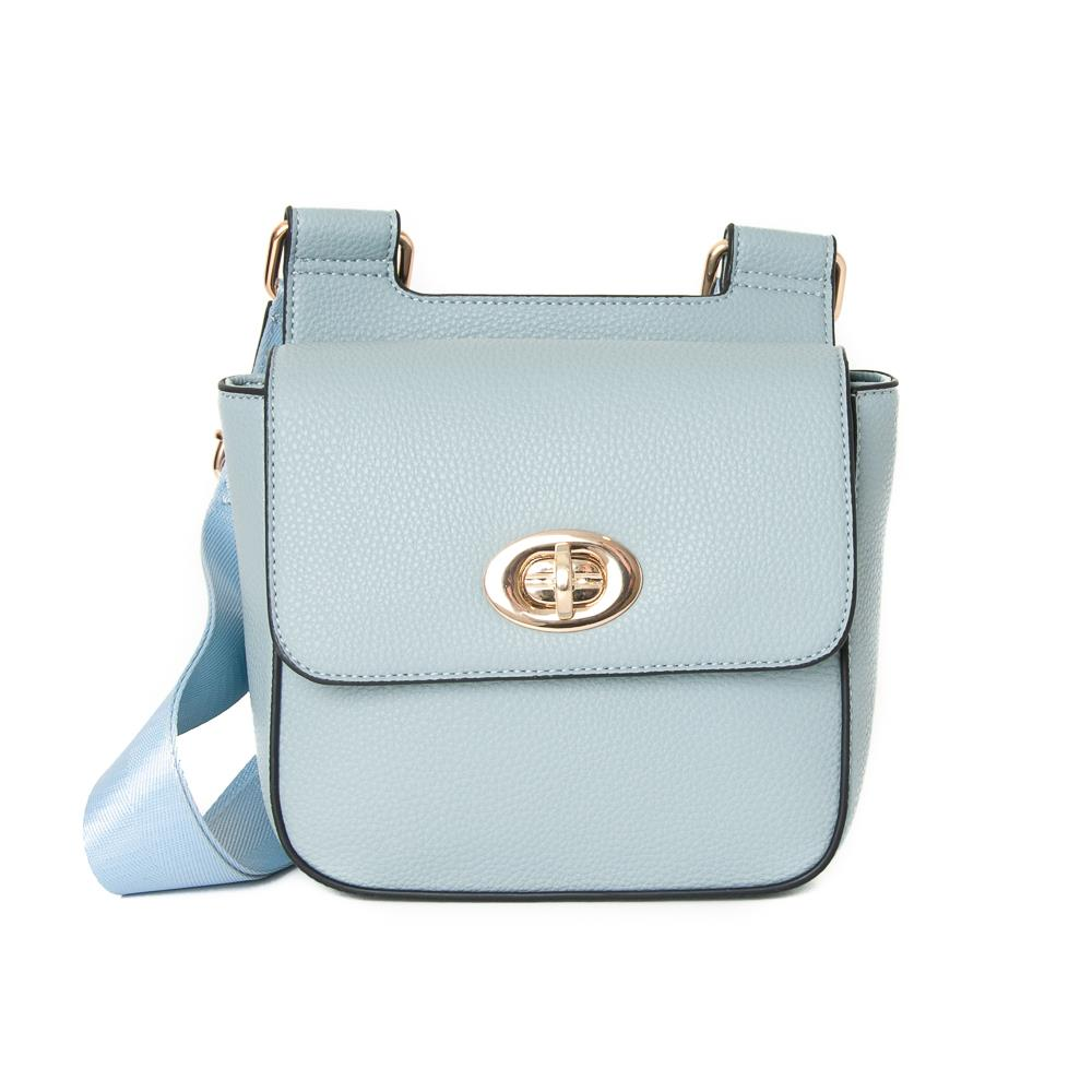 Bag, Daisy clutch lt.blue