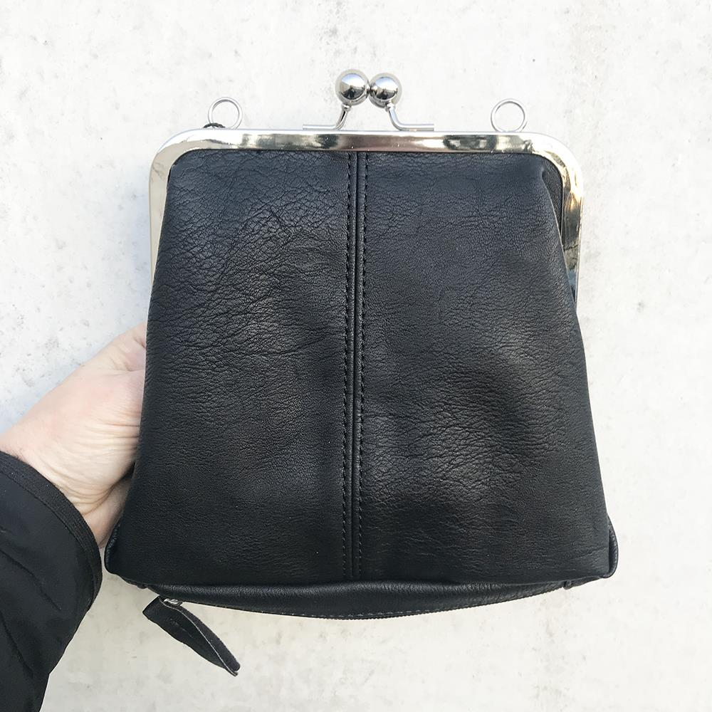 Bag, Small PU bag with long strap