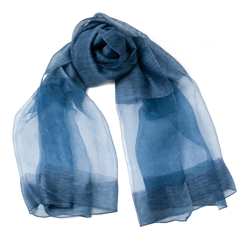 Scarf, party shawl blue