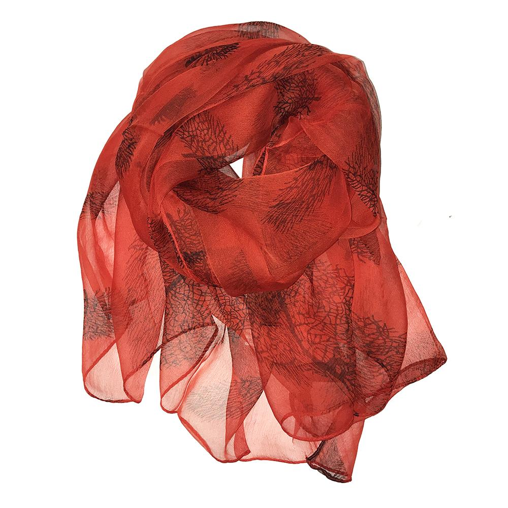 Scarf, Silkscarf with pattern