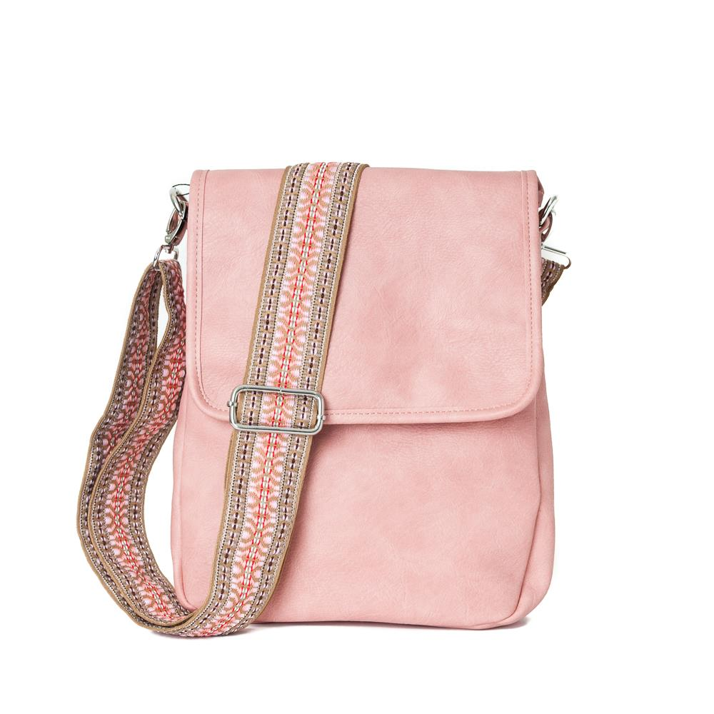 Bag, Anette small flip lt pink