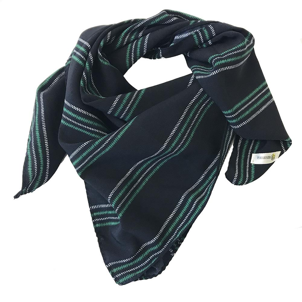 Scarf, small with stripes