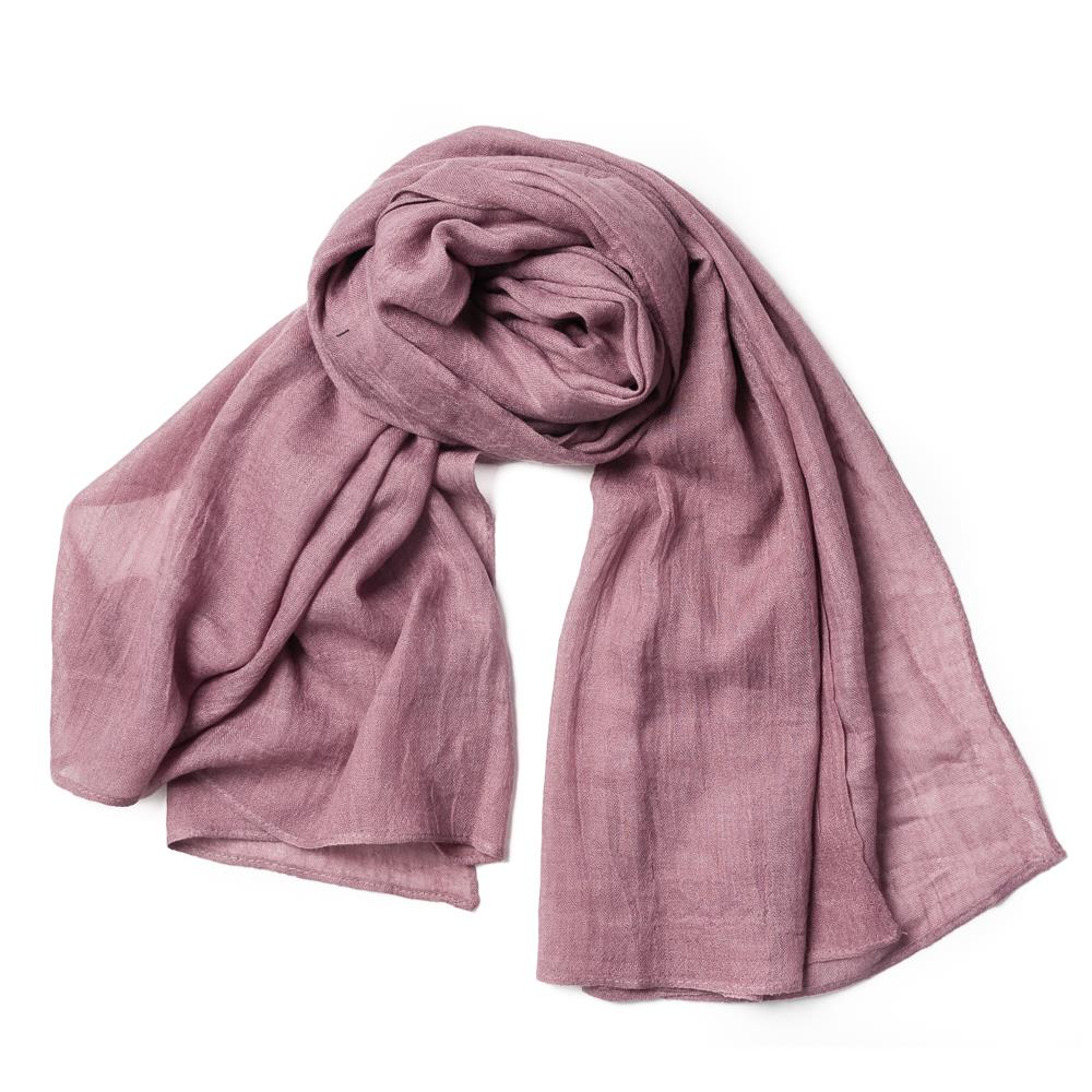 Scarf, small modal dusty pink