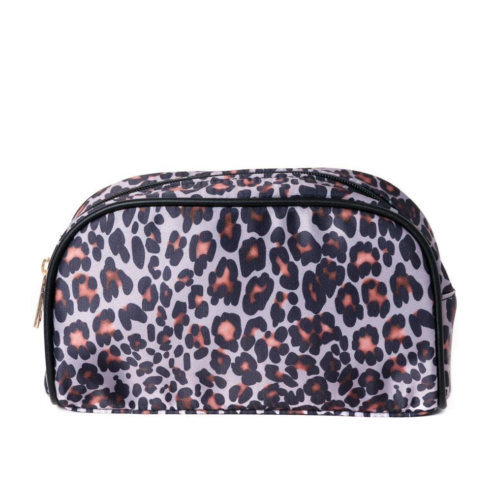 Bag, make up print leopard