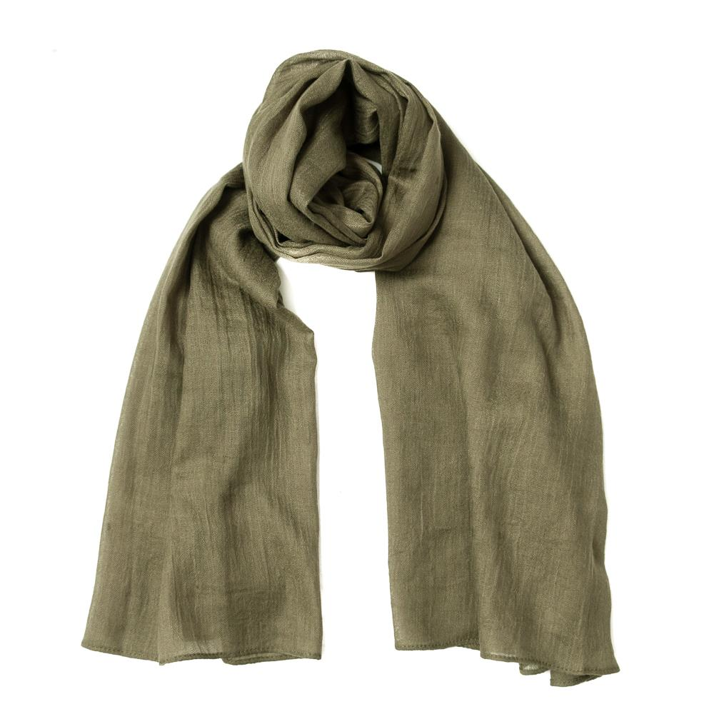 Scarf, small modal green