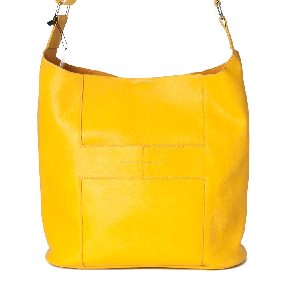 Bag, Anna cross yellow