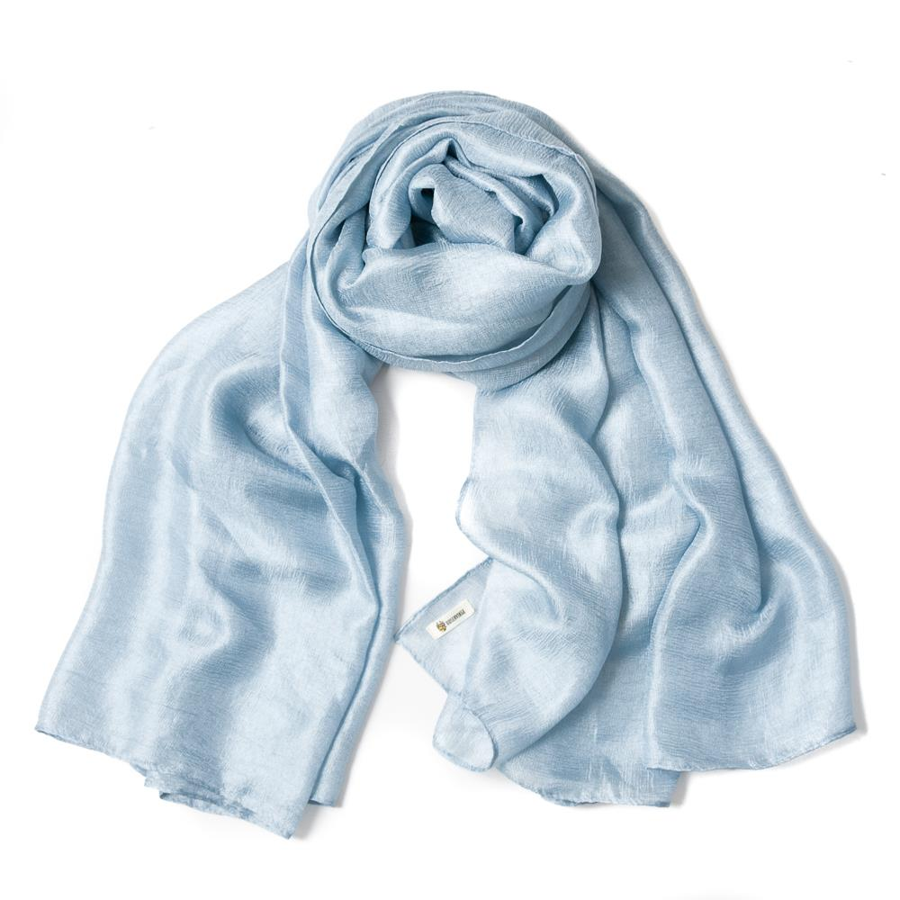 Scarf, party blue