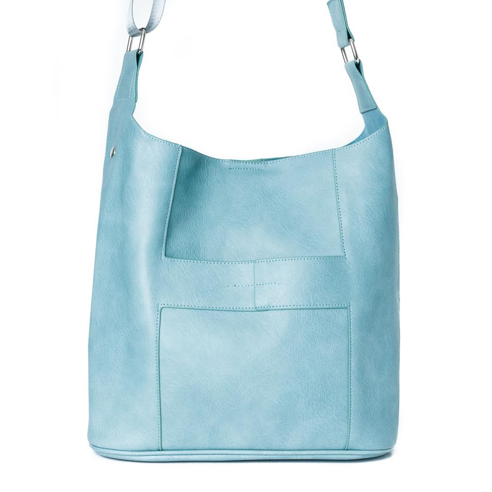 Bag, Anna cross lt blue