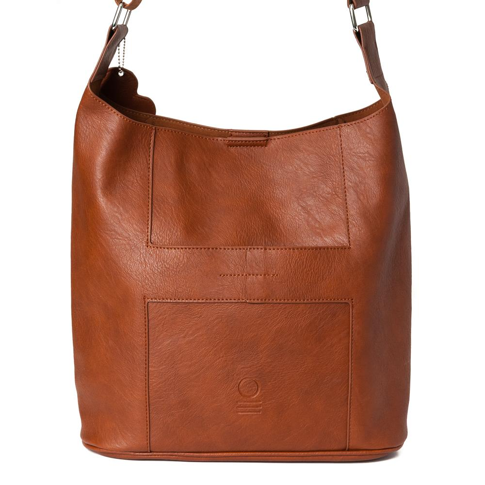 Bag, soft cross brown