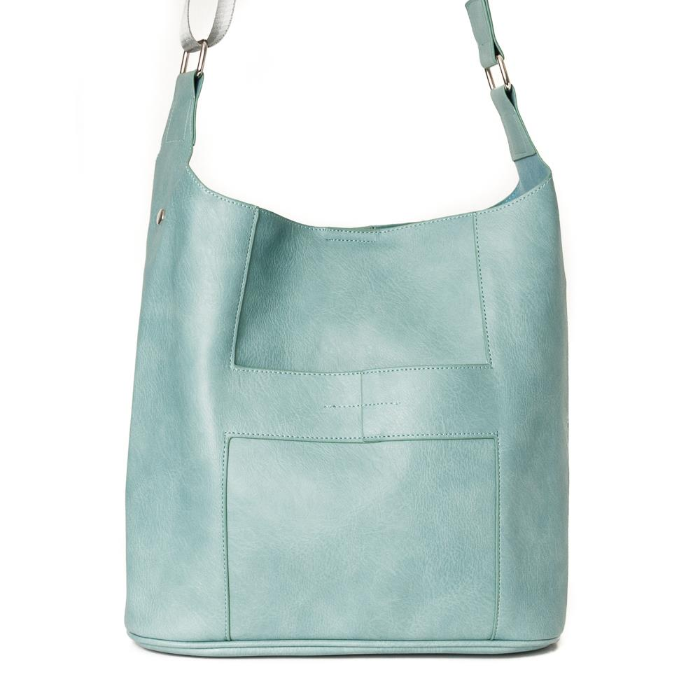 Bag, Anna cross lt green