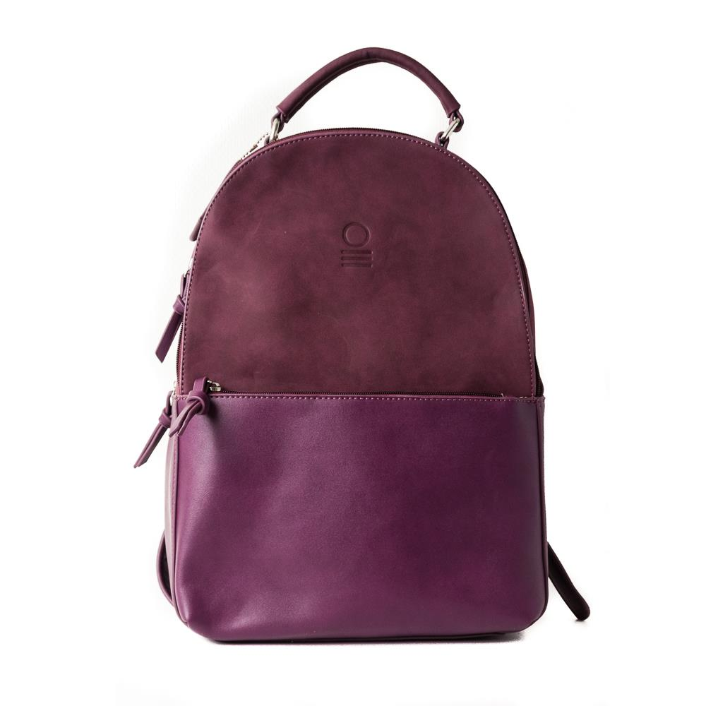 Bag, sack with zipper purple