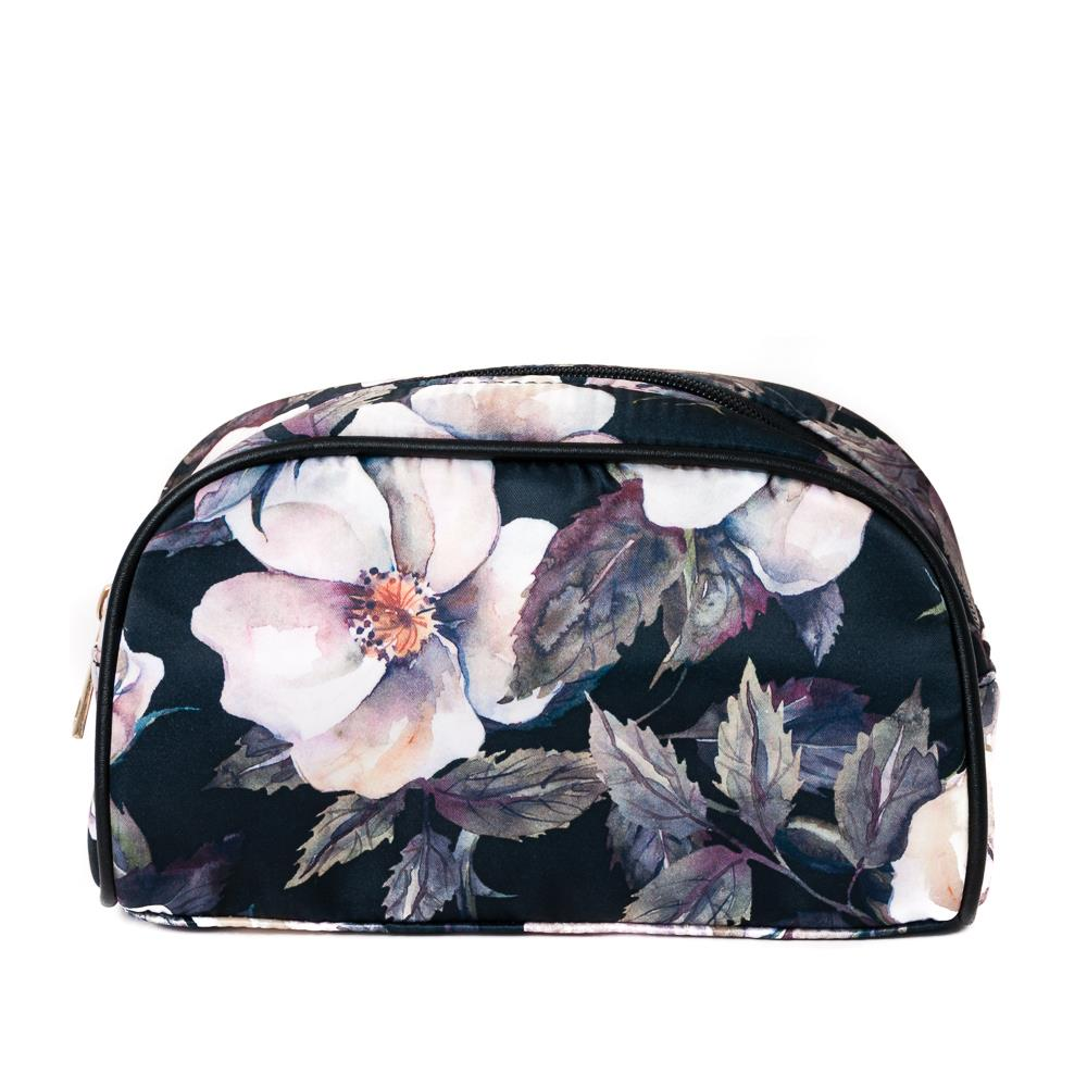 Bag, make up print flower