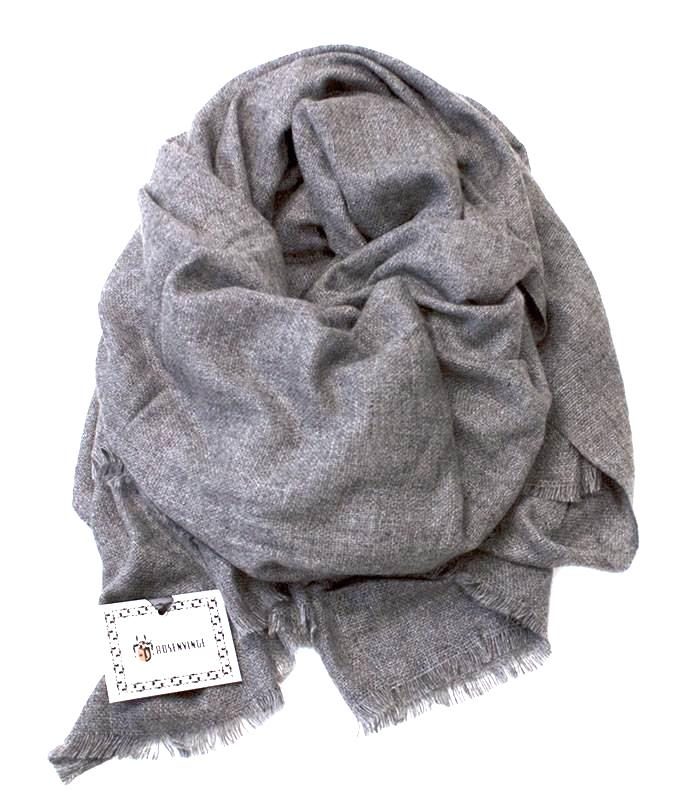 Scarf big wowen wool