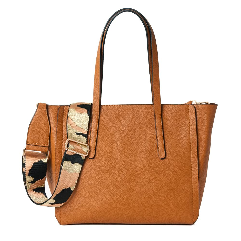 Bag, Emmely shopper cognac