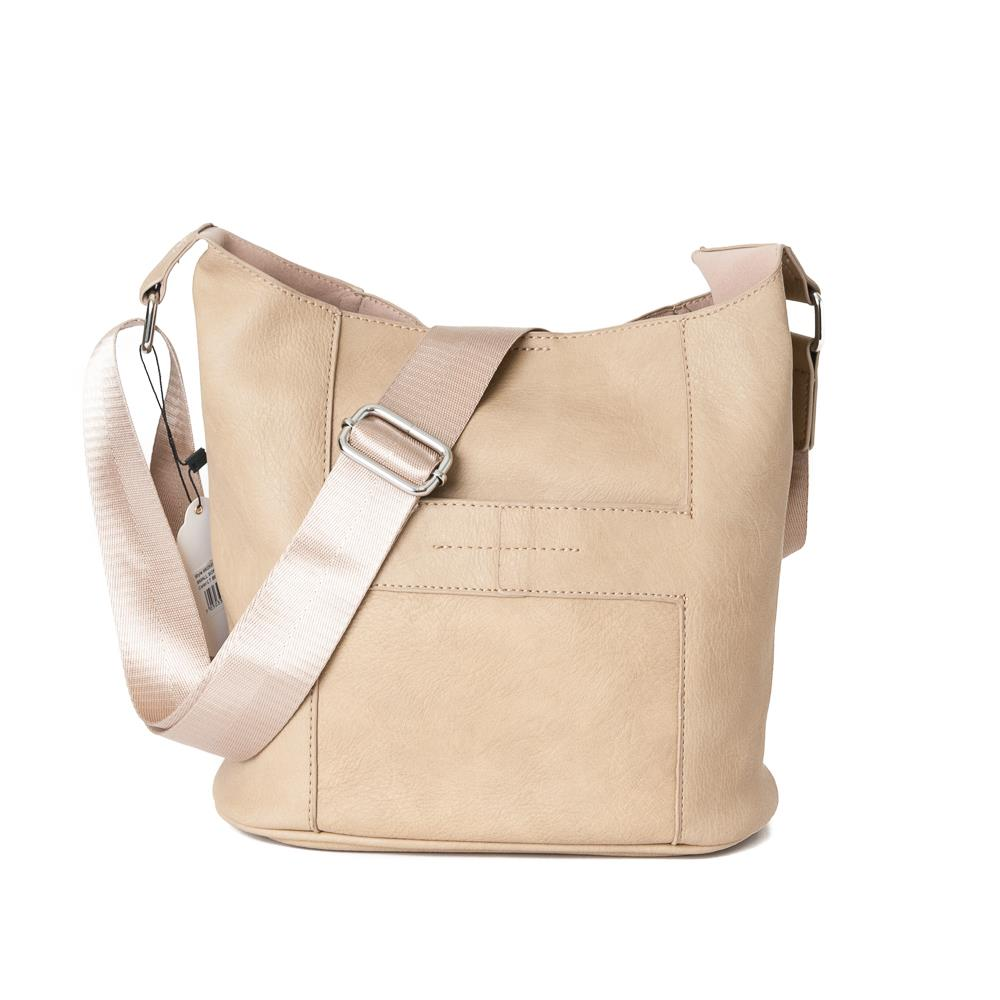Bag, Anna small cross light beige