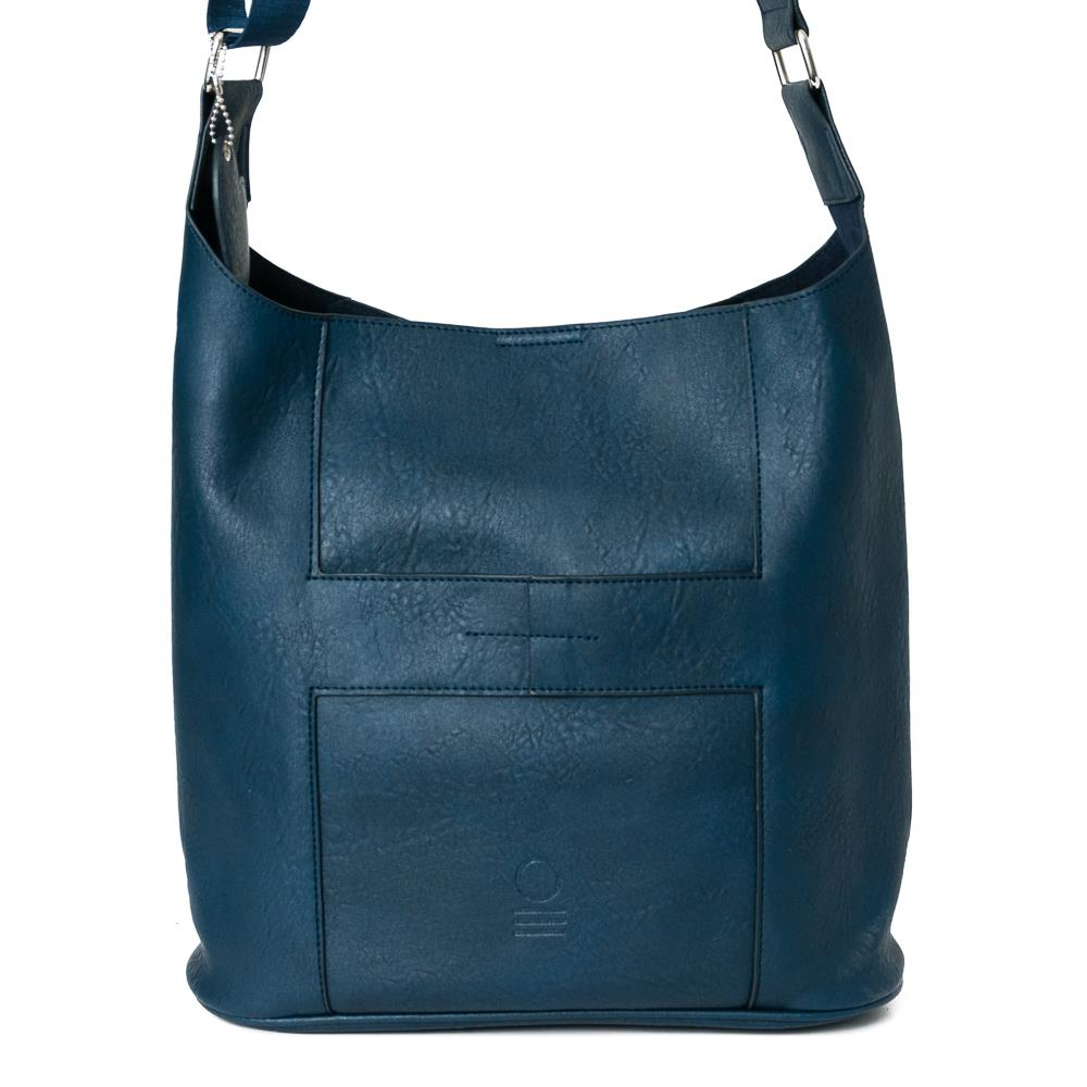 Bag, soft cross navy
