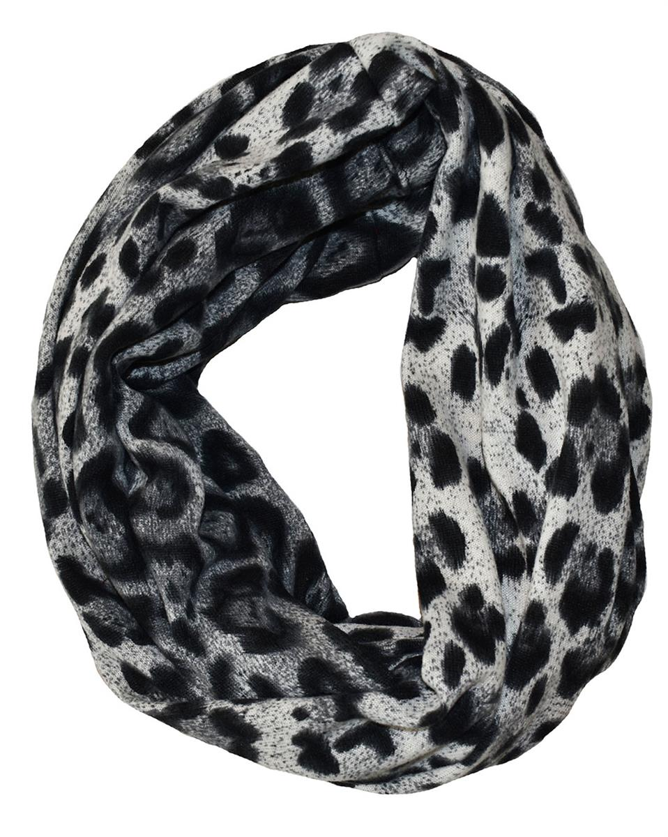 Scarf, jersey tube animalprint