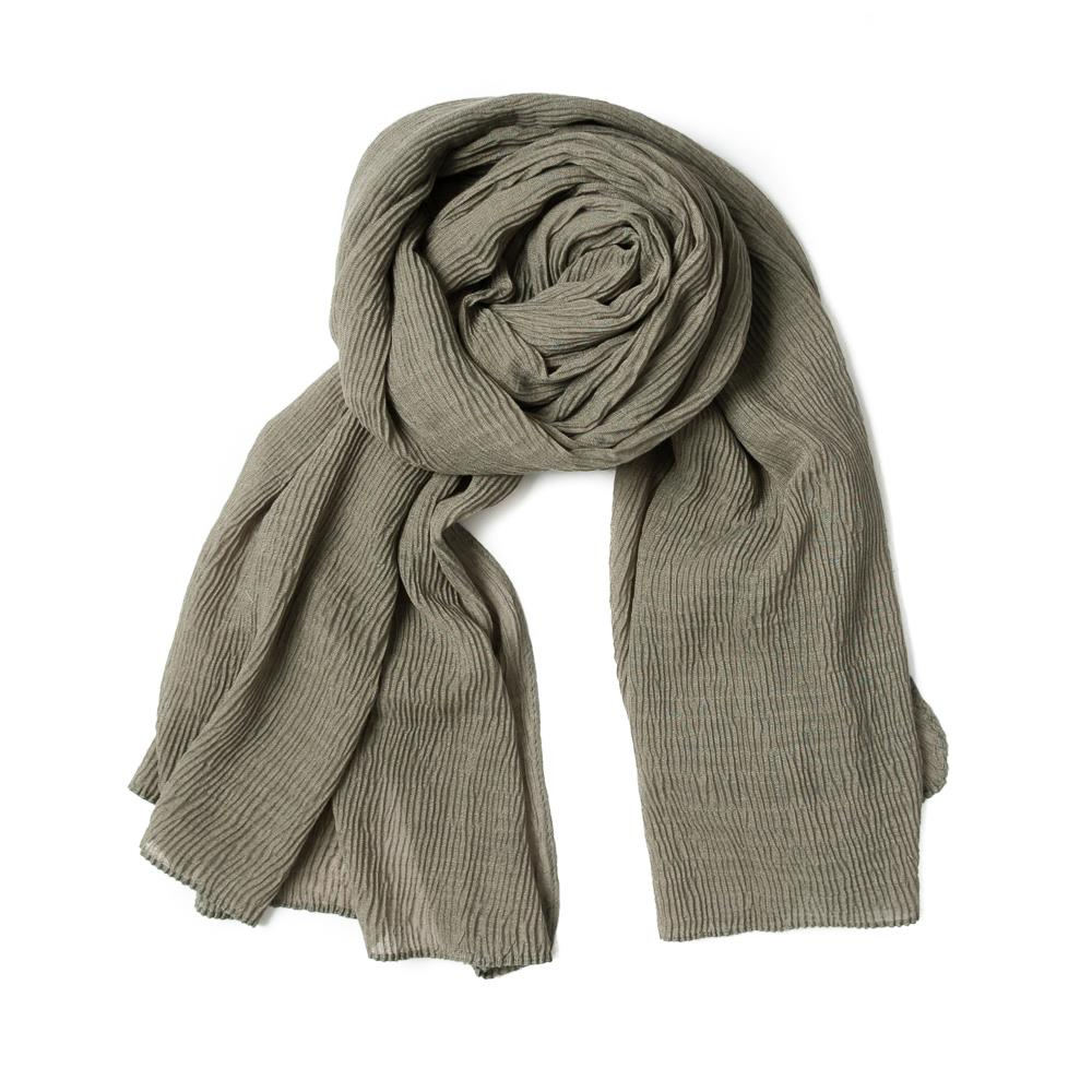 Scarf, viscose mix army