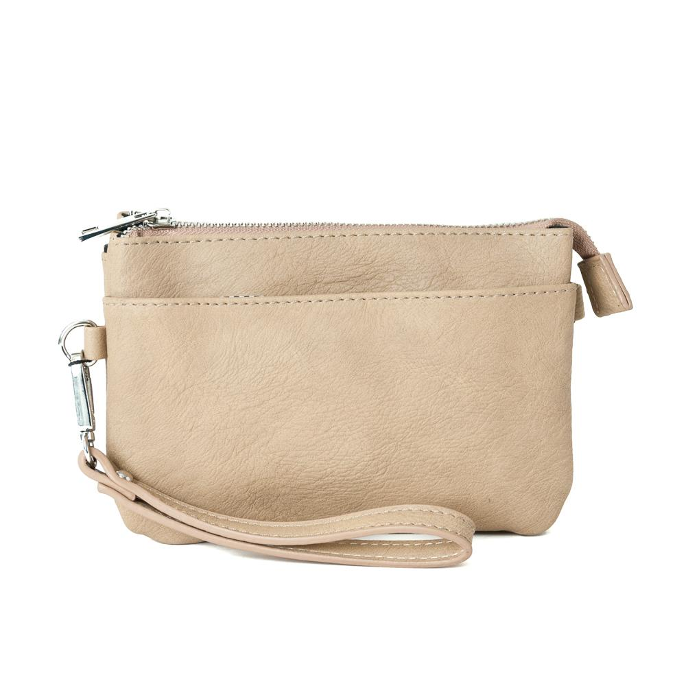 Bag, Anna purse light beige