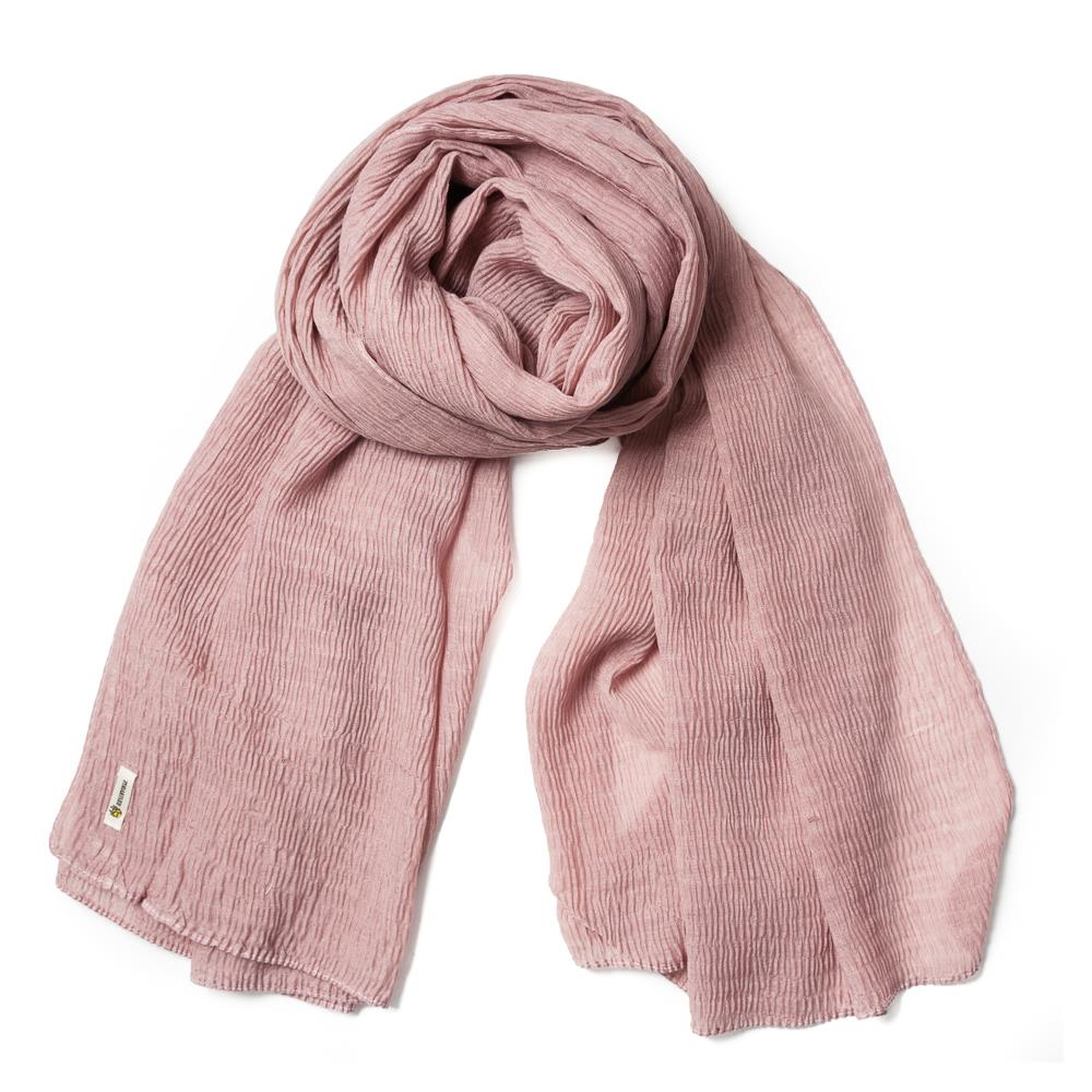 Scarf, viscose mix Dusty Pink