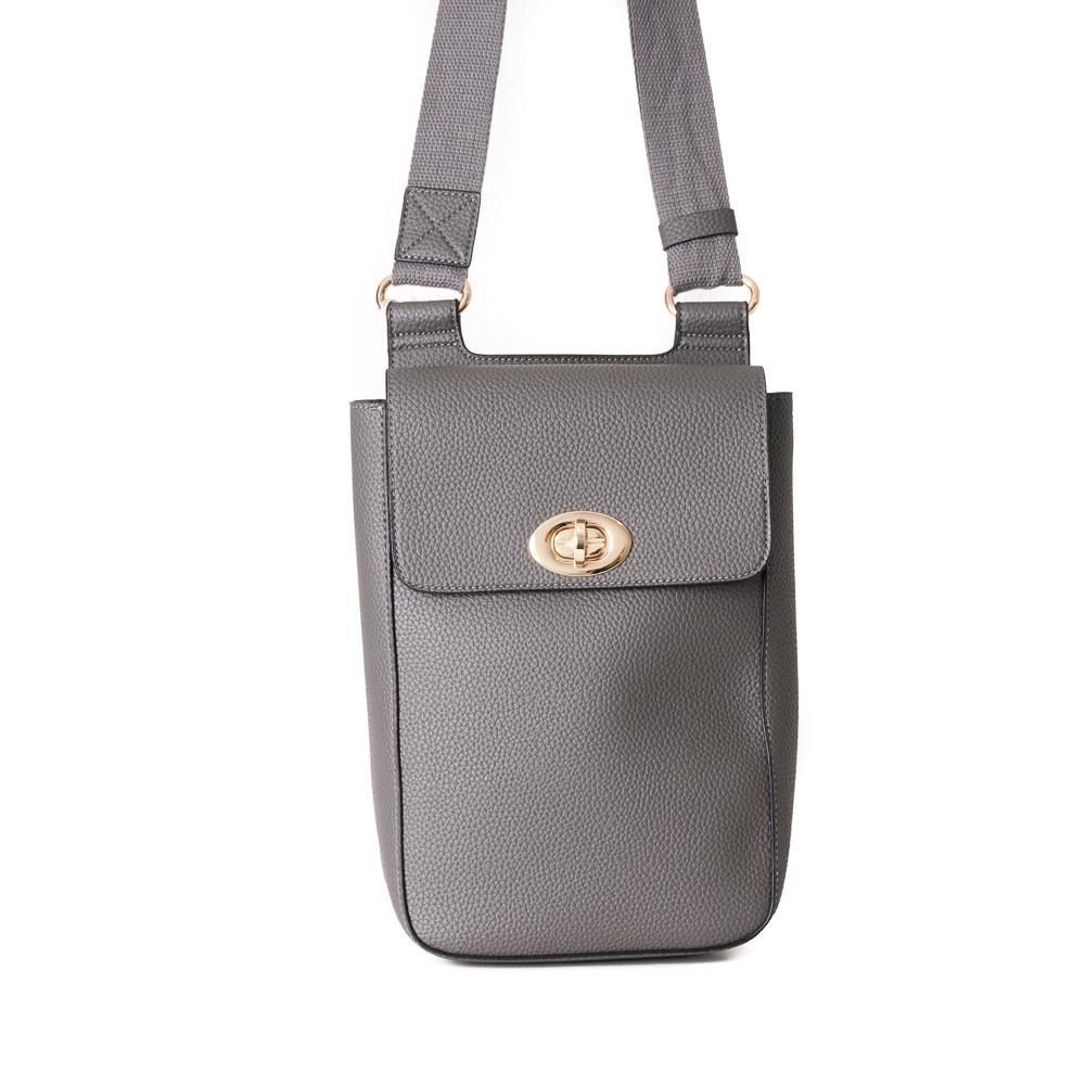 Bag, small school grey