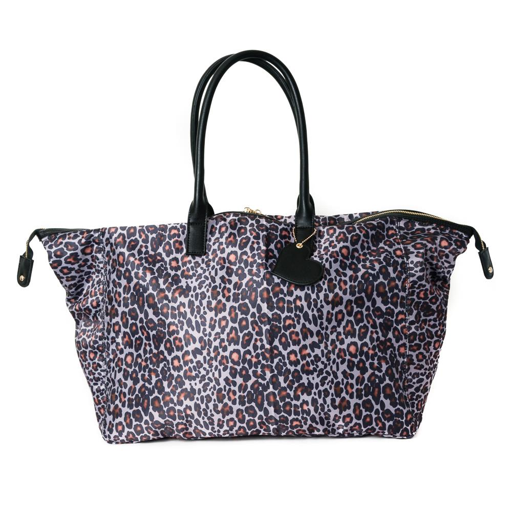 Bag, weekend print leopard