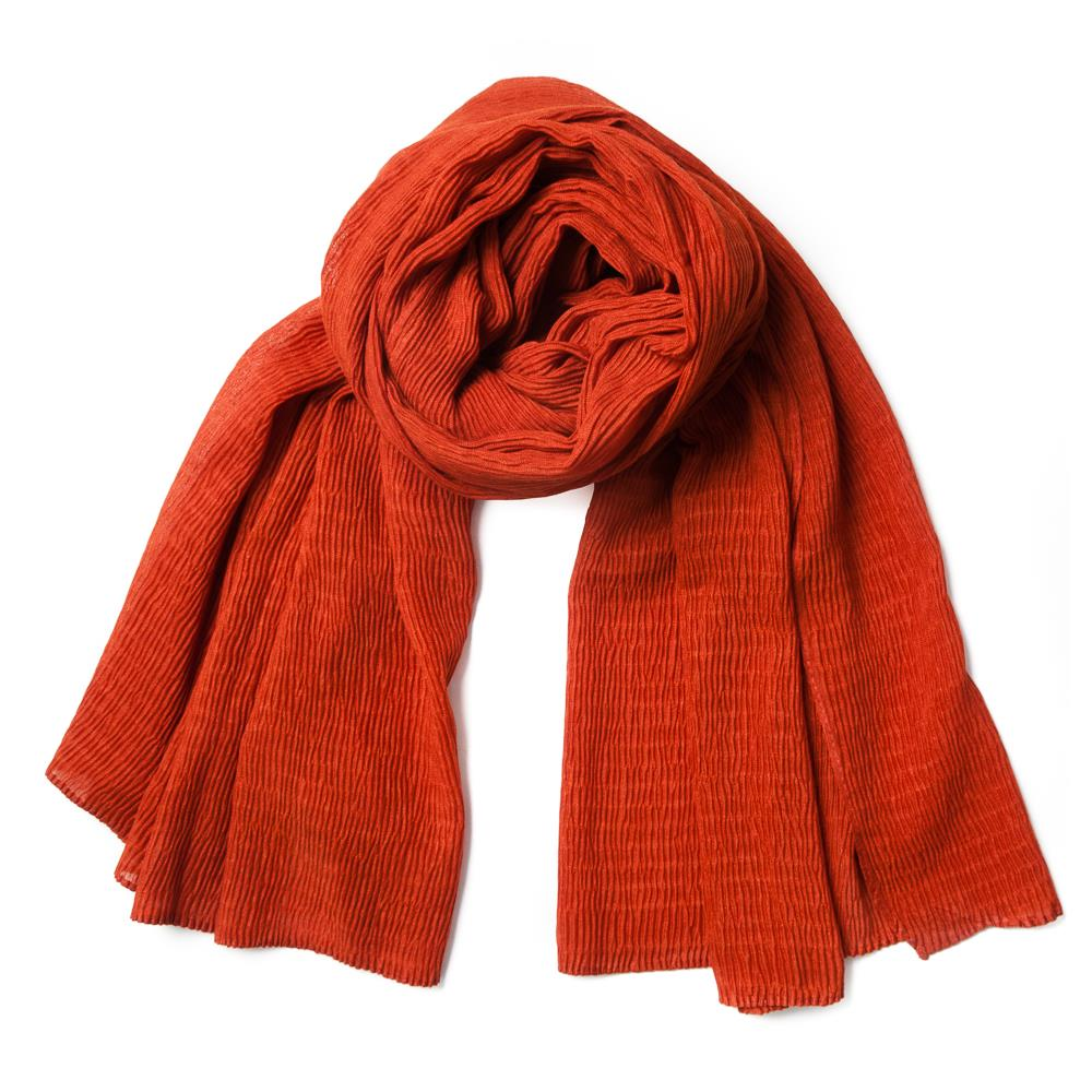 Scarf, viscose mix Brick