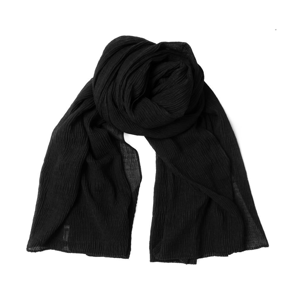 Scarf, viscose mix black