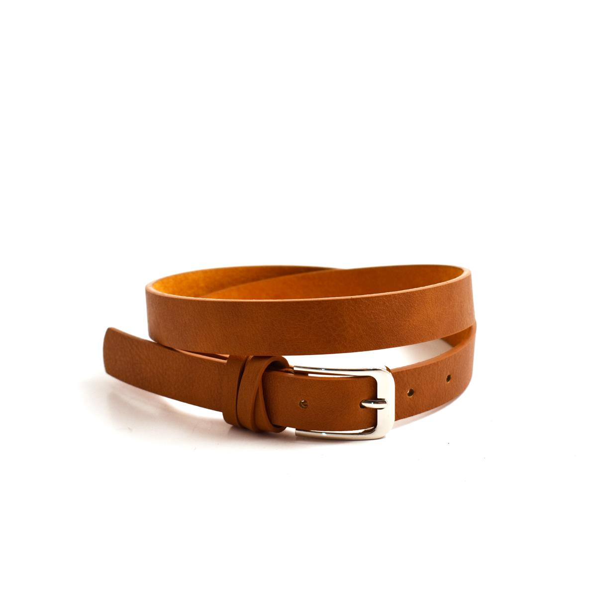 Belt, Soft loop buckle, black