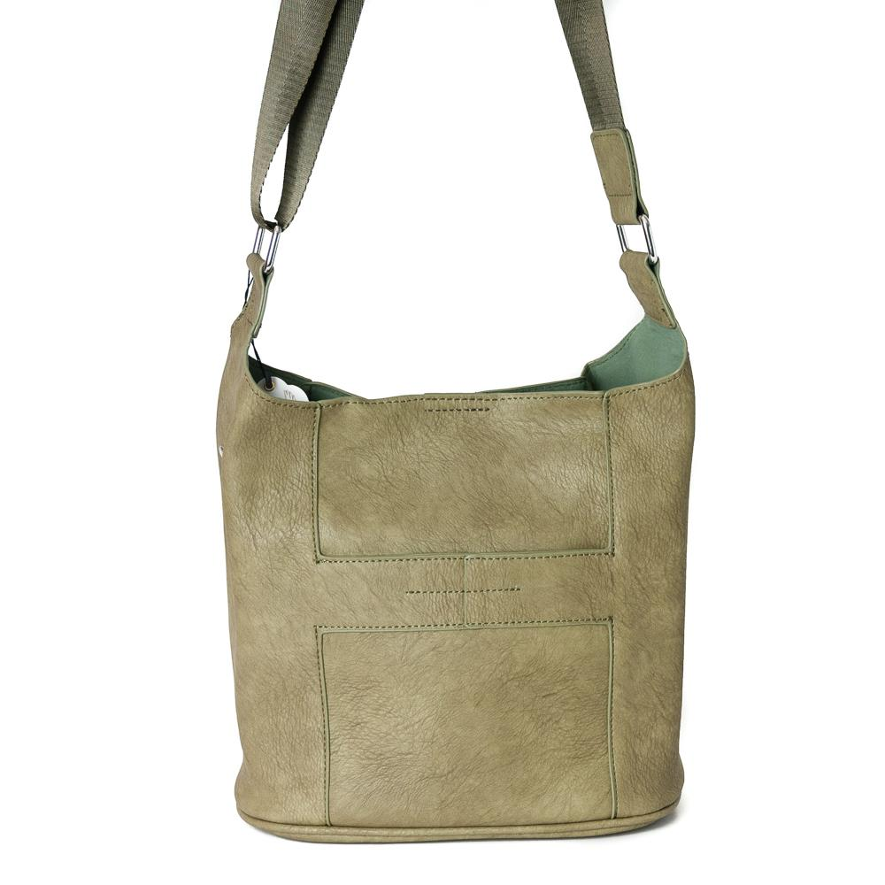 Bag, small soft cross army green